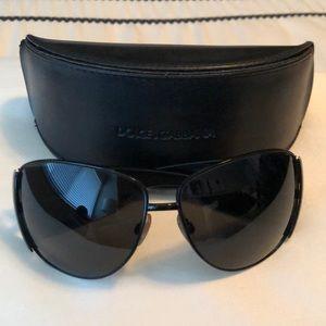 Dolce and Gabbana Black Sunglasses DG2014 01/87
